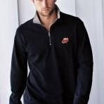 Sweatshirt Trucker à col zippé