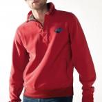Sweatshirt vintage à zip