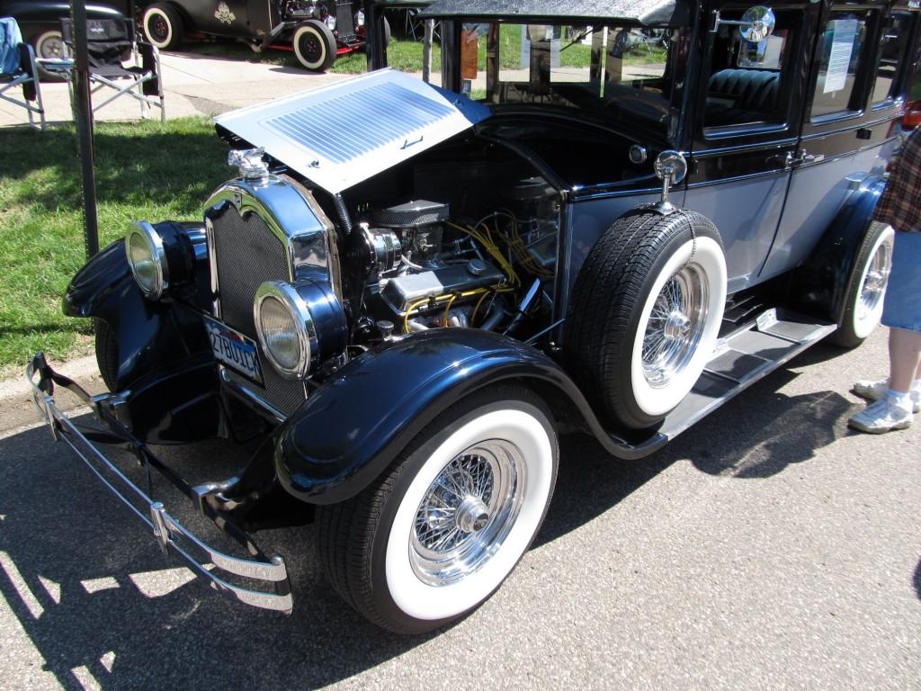 Al Capone Buick 1927-engine