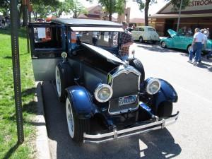 Al Capone Buick 1927-front
