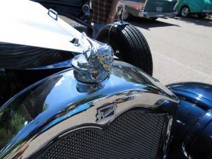 Al Capone Buick 1927-radiator