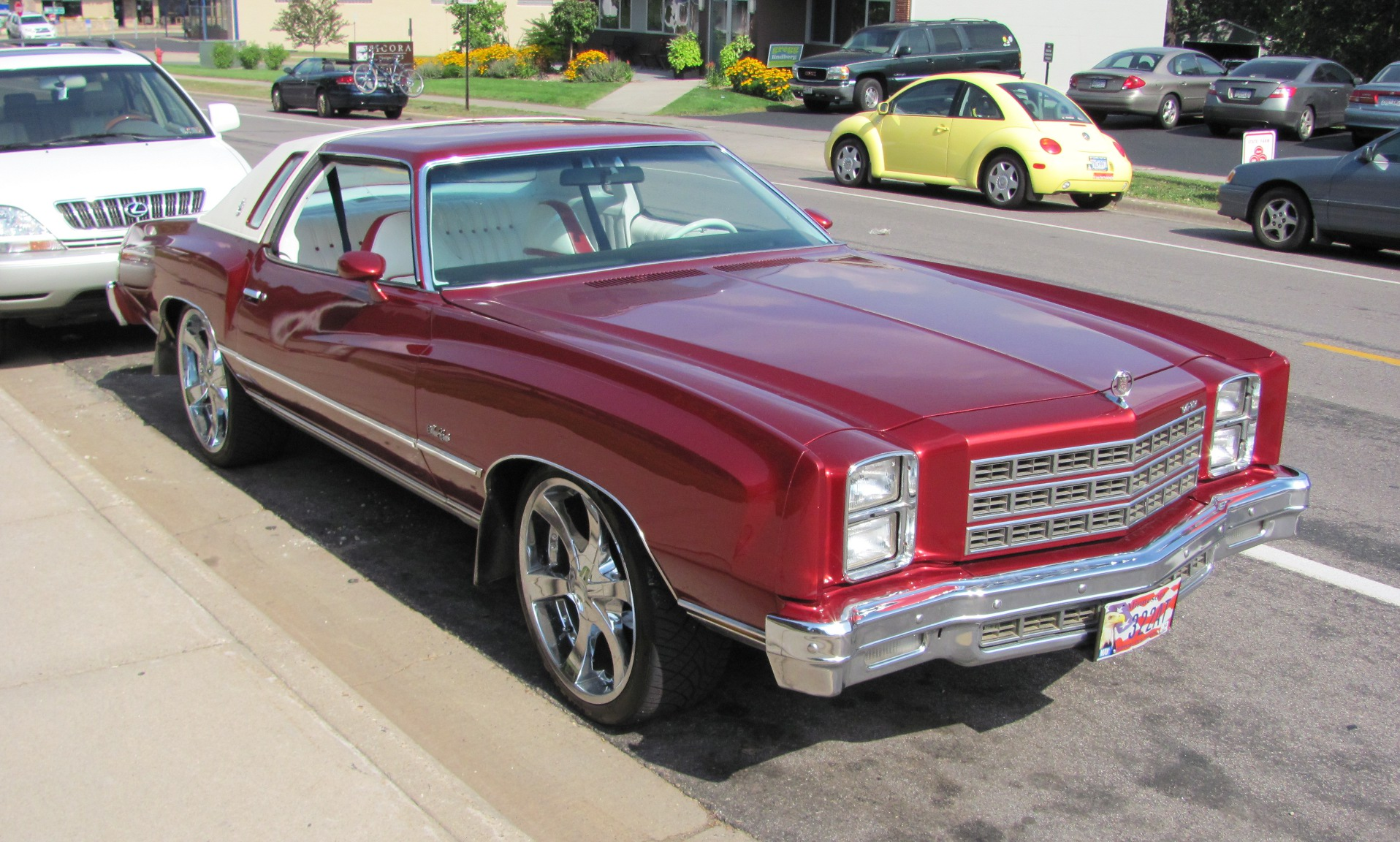 Chevrolet Monte Carlo 1976 Ou L Art Du Pimp My Ride Speed Boutique