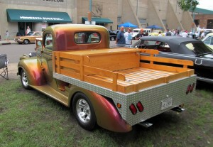 Chevrolet Pick Up 1941 back
