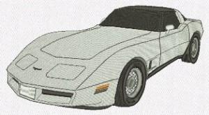 Broderie Corvette